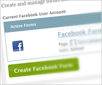 Add Sign-Up Forms to Your Website and Facebook Page